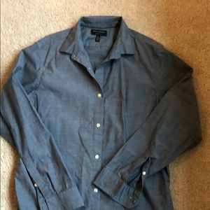 Blue BR Button Down